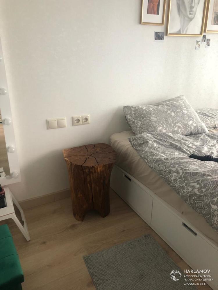 Прикроватный столик — WoodenSlab.ru