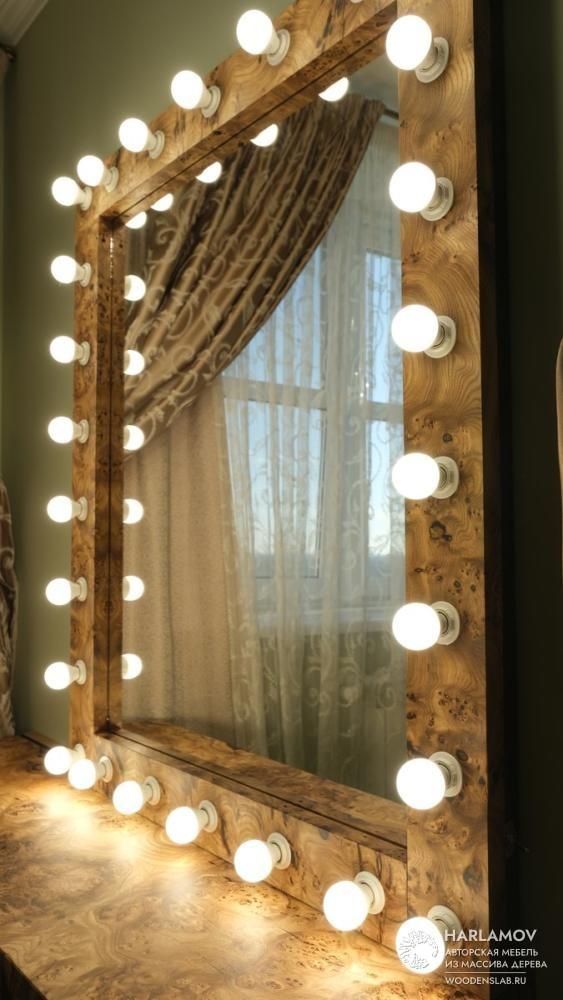 Макияжный столик с зеркалом «Madonna» — WoodenSlab.ru