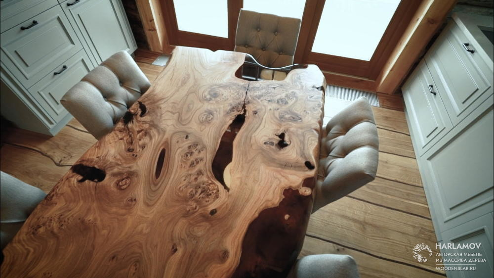 Авторский стол «Imagining» — WoodenSlab.ru