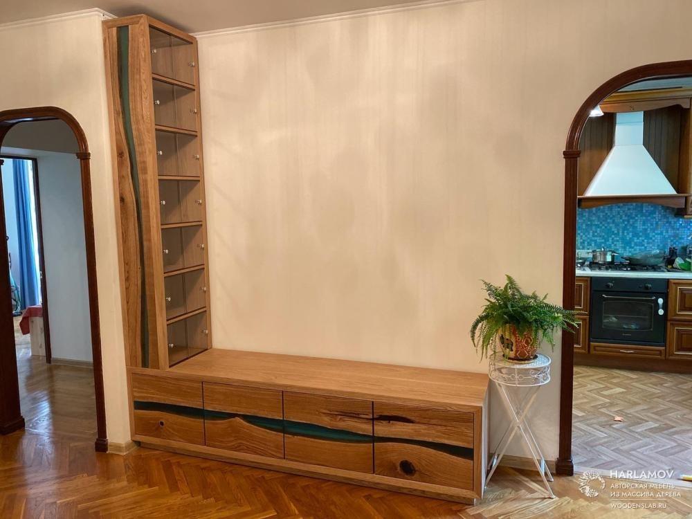 Тумба и книжный шкаф «Bloomberg» — WoodenSlab.ru