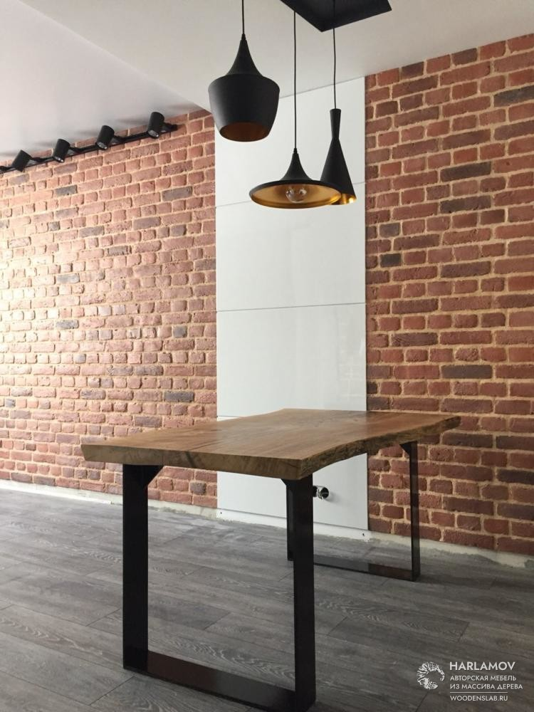 Стол из слэба дуба — WoodenSlab.ru