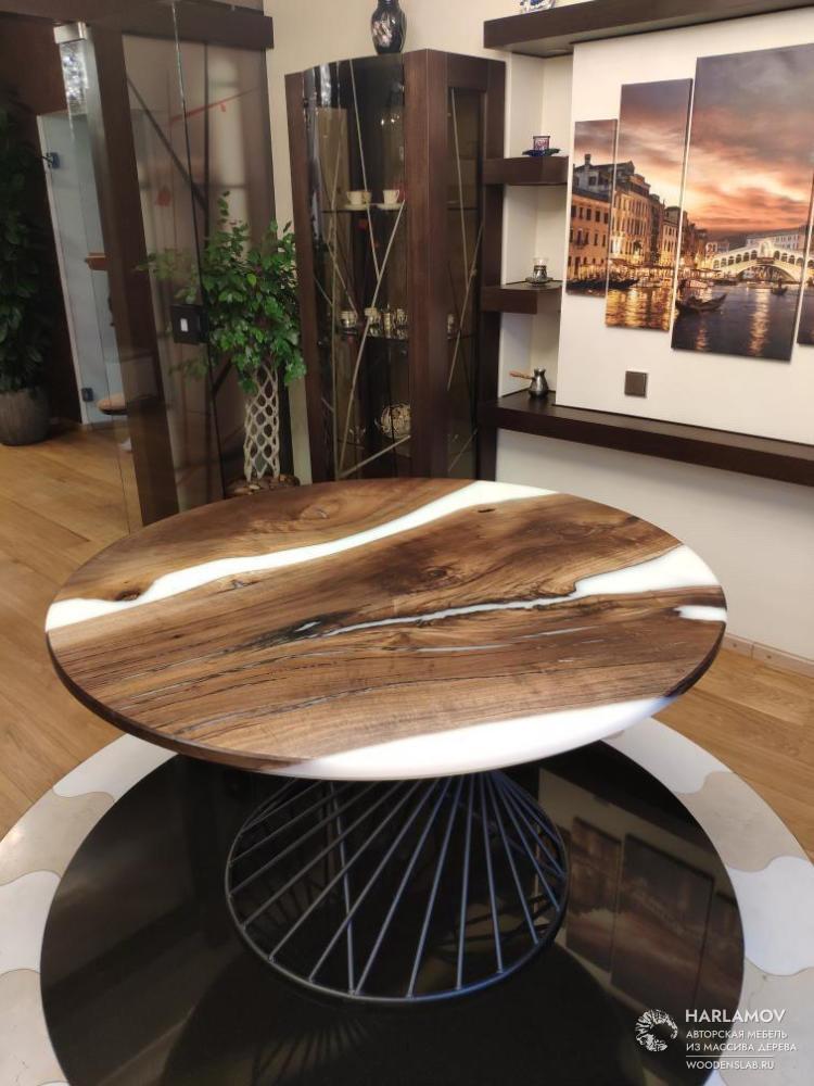 Авторский круглый стол «Tornado» — WoodenSlab.ru