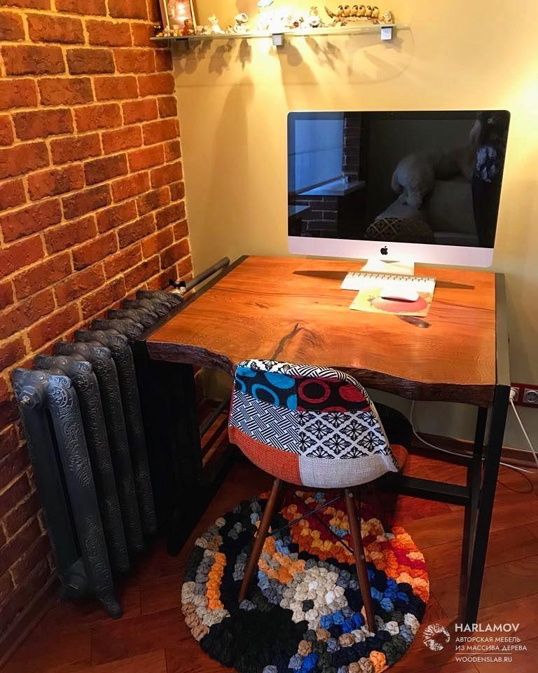 Рабочий стол из дуба — WoodenSlab.ru