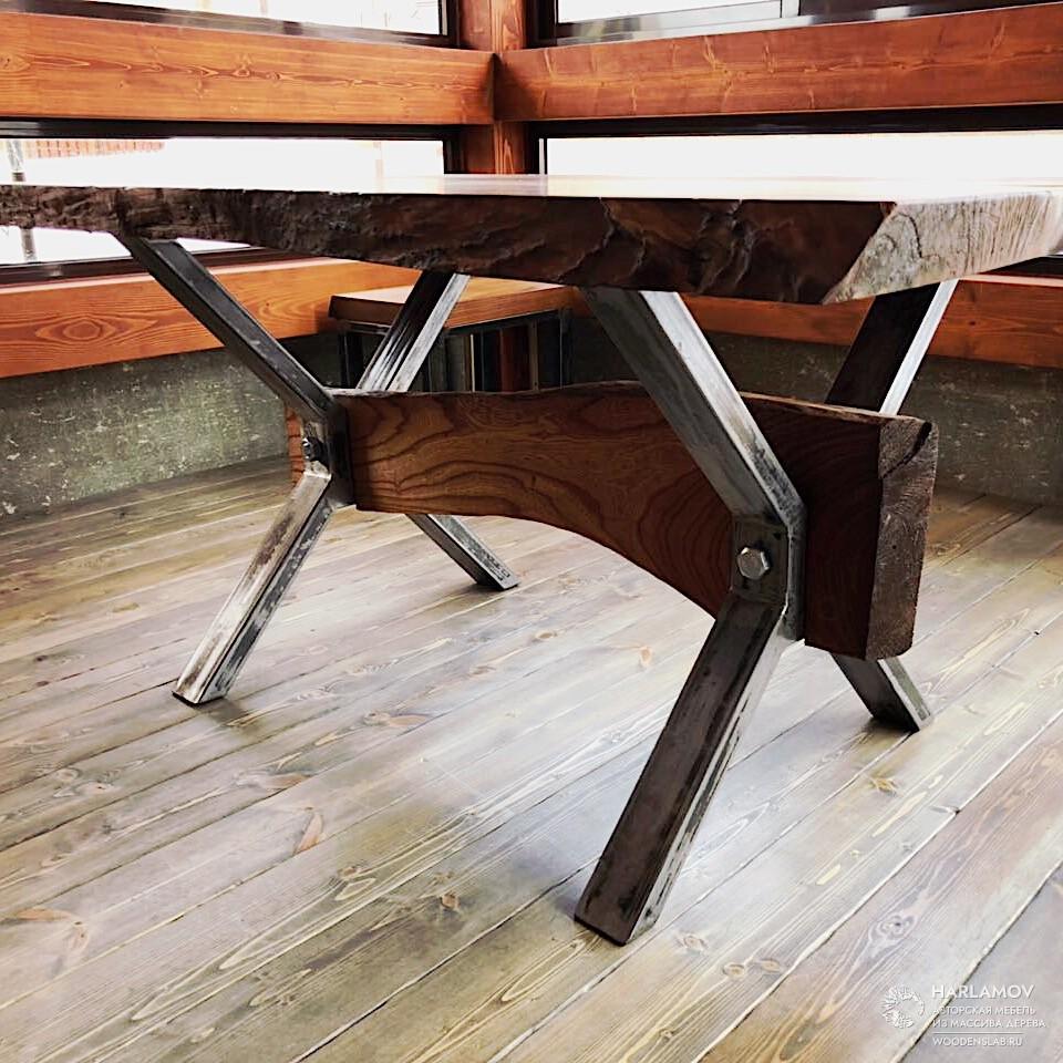 Авторский стол «Викинг» — WoodenSlab.ru