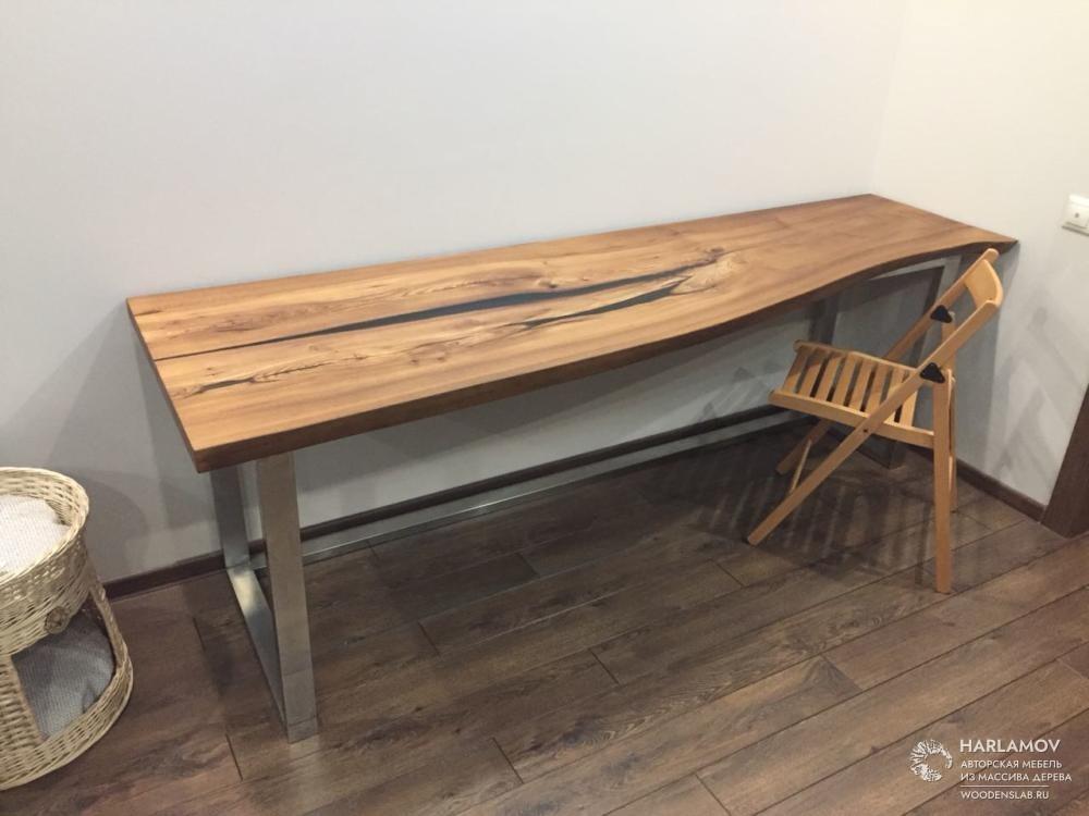 Рабочий стол «Река» — WoodenSlab.ru