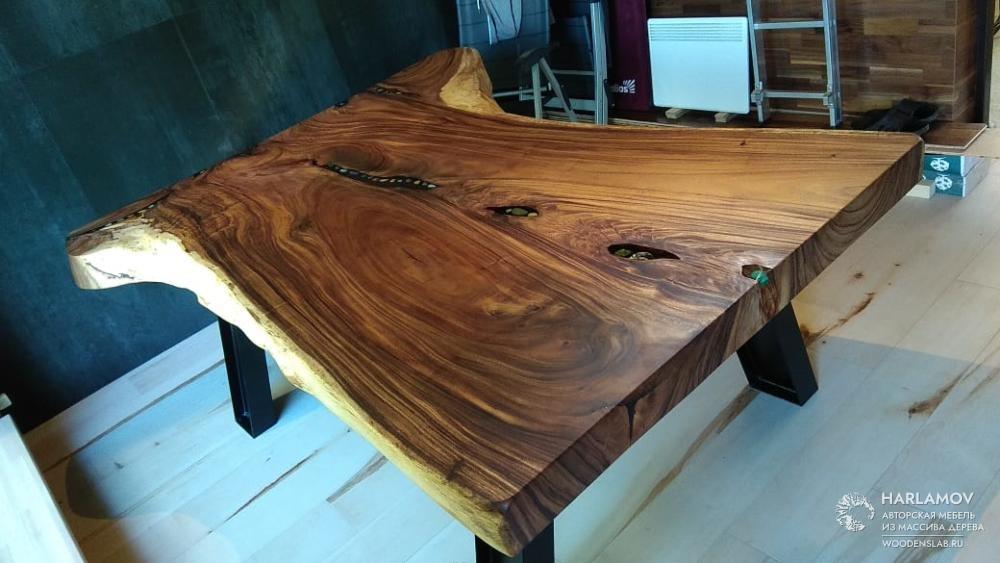 Авторский стол «Grand» — WoodenSlab.ru
