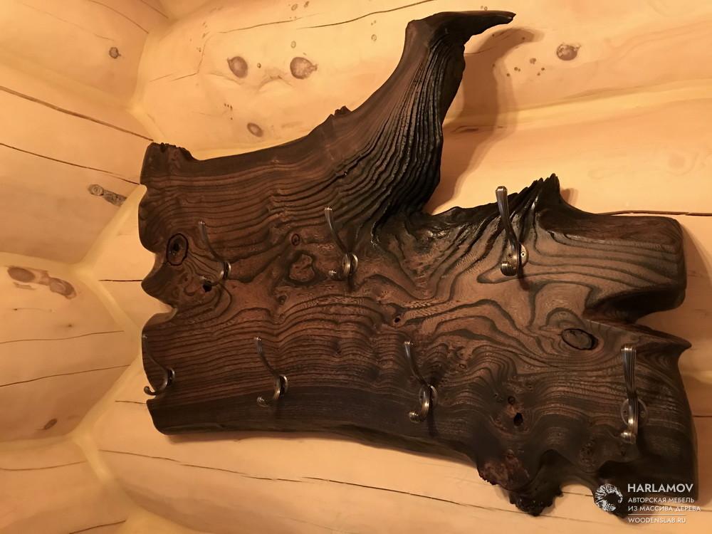 Вешалка в прихожую — WoodenSlab.ru