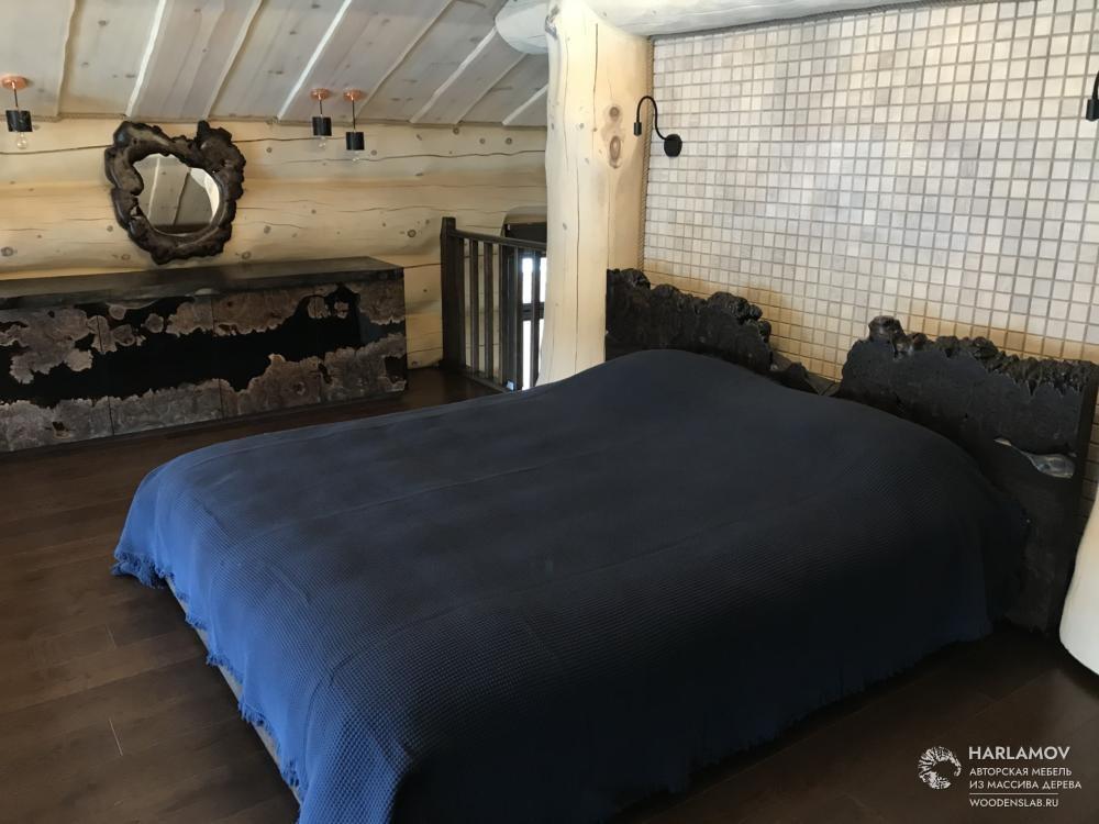 Авторская кровать «Mountain hills» — WoodenSlab.ru