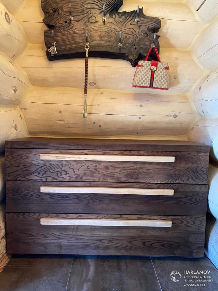Комод из массива дерева — WoodenSlab.ru