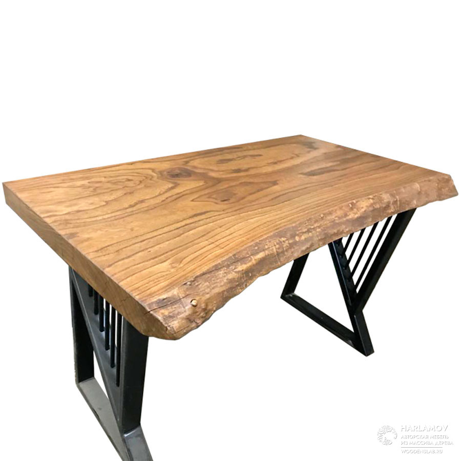 Рабочий стол из карагача — WoodenSlab.ru