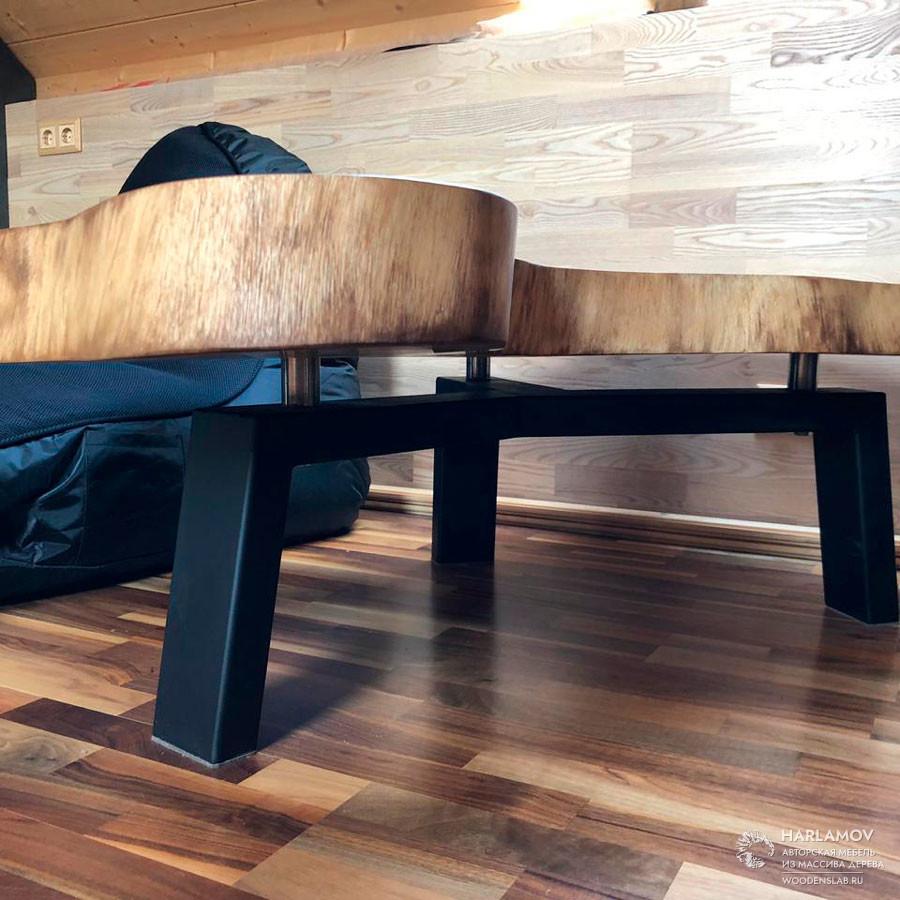 Журнальный стол «Суар» — WoodenSlab.ru
