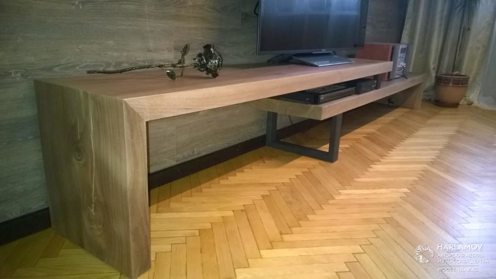 Консоль под ТВ — WoodenSlab.ru