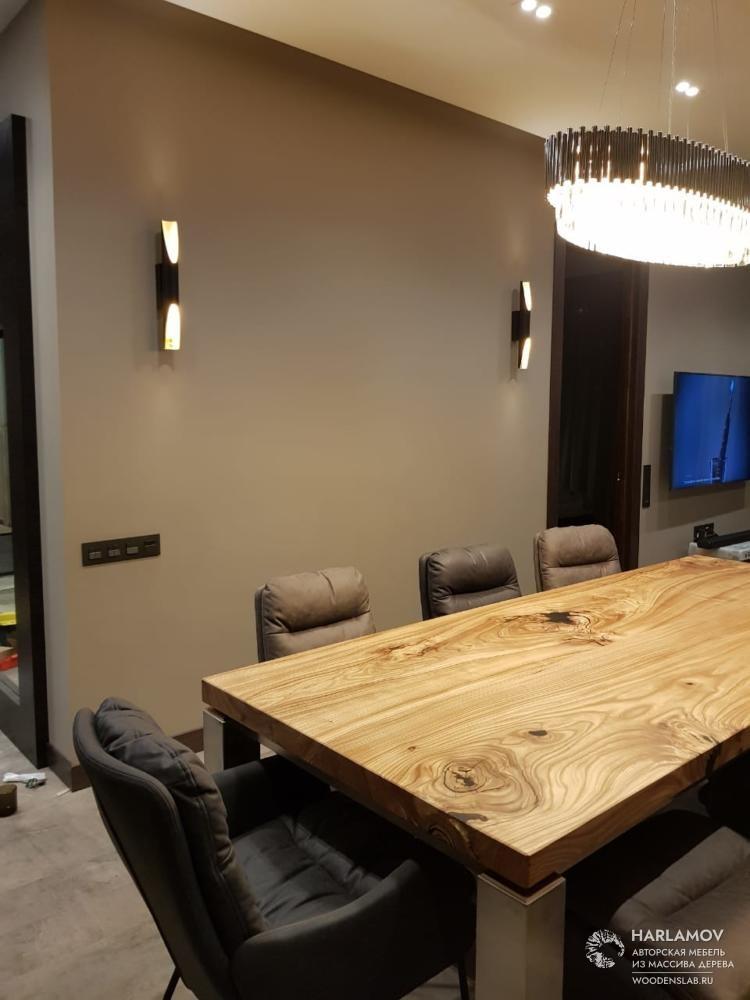 Авторский стол «Magnify» — WoodenSlab.ru