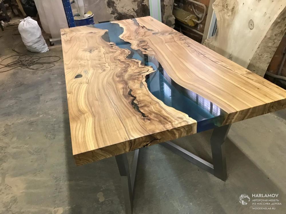 Журнальный стол «Орех» — WoodenSlab.ru