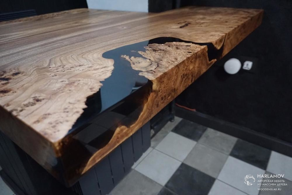 Столешница из карагача — WoodenSlab.ru