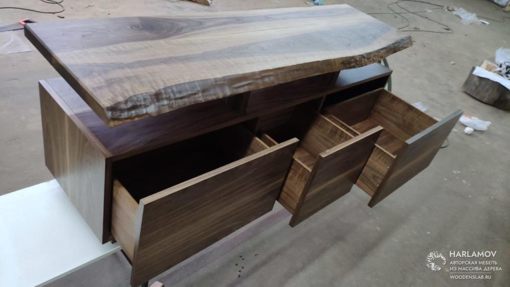 Консоль под ТВ — WoodenSlab.ru